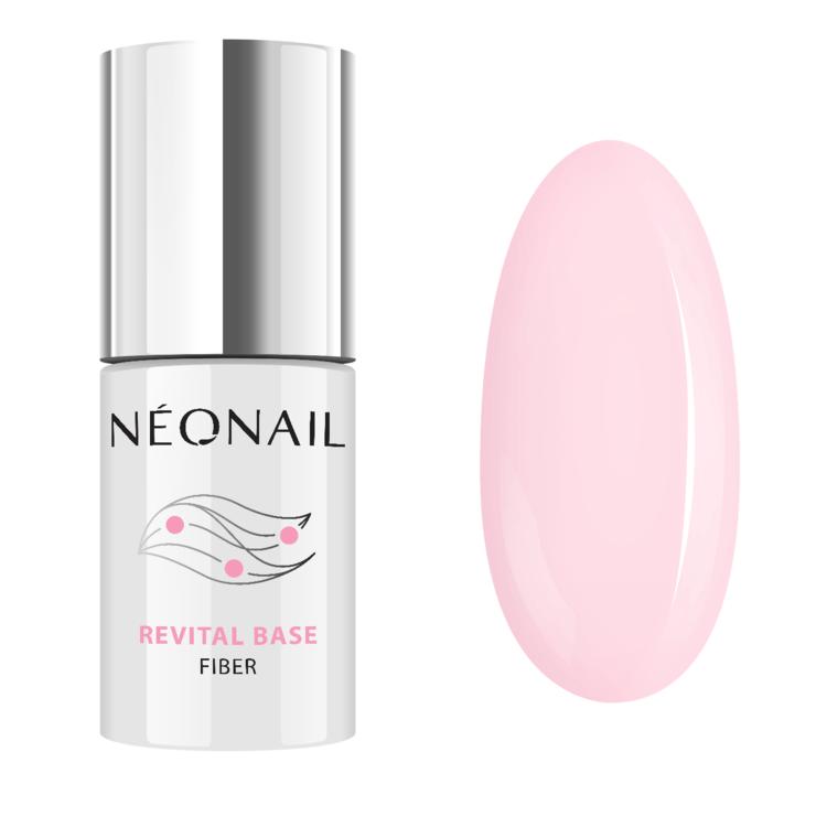 Smalto semipermanente 7,2 ml Revital Base Fiber rosy blush