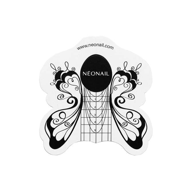 Cartine farfalla - NEONAIL 100 pezzi