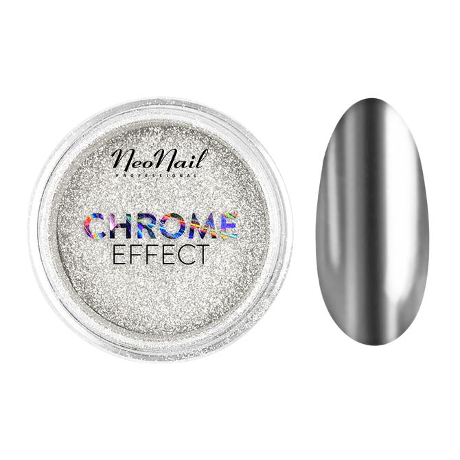 Polvere Chrome Effect 2 g - Silver